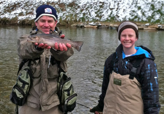 Wading with Blue Ridge Anglers
